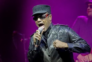 Bobby Womack Performing at Liverpool Phi;harmonic Hall - 26/01/2